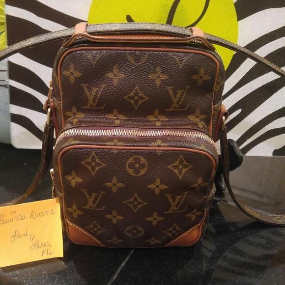 9c13e3c0fbe5 Louis Vuitton Handbags - AUTHENTIC LOUIS AMAZON CROSSBODY